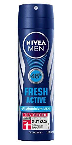 Nivea Men Fresh Active Deo (6 x 150 ml) Amazon 6,30€ Prime