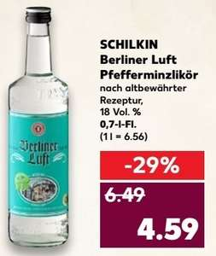 [Kaufland Bergkamen & Lünen] Berliner Luft 18% 0,7l Flasche