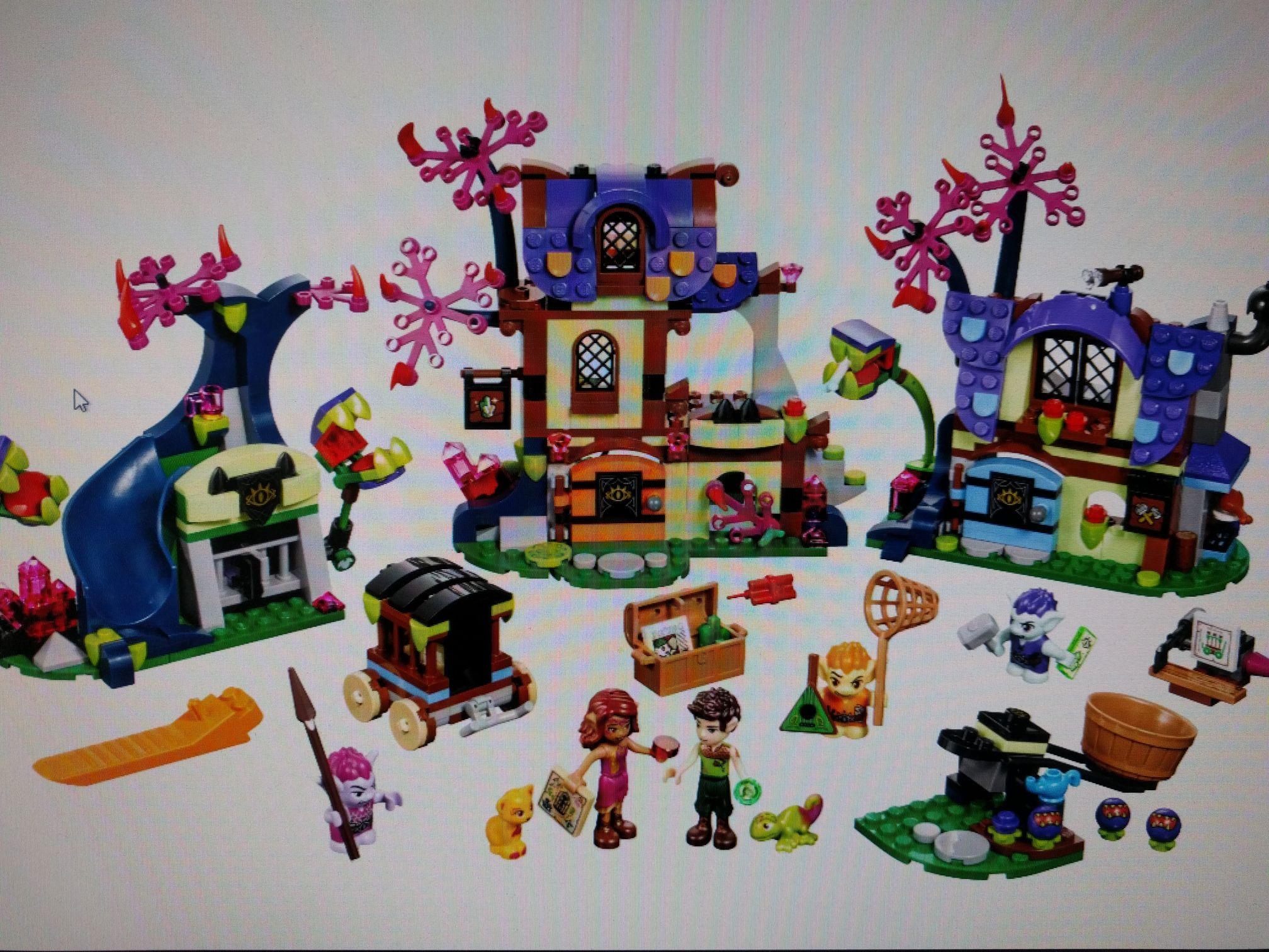 Lego Elves 41185 Magische Rettung aus dem Kobold-Dorf