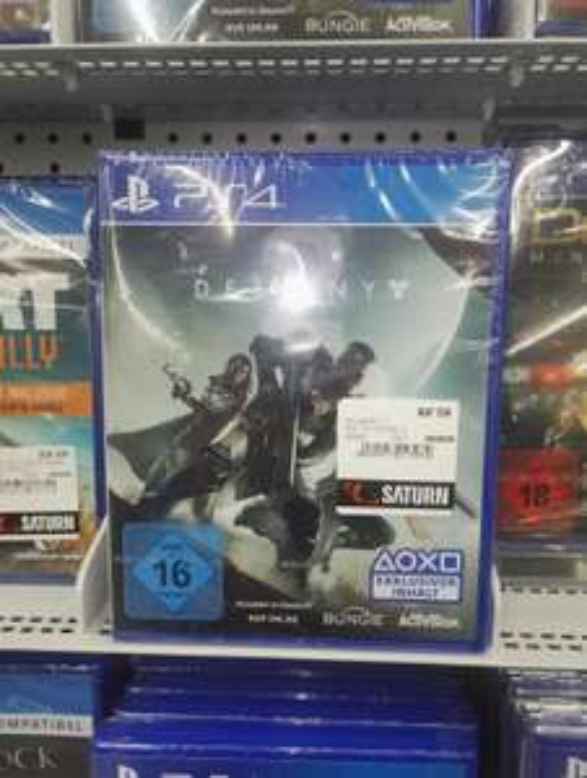 (Lokal Saturn Oldenburg) Destiny 2 für PS4 19,97 Euro