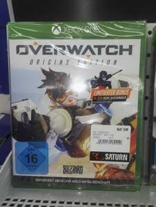 (Lokal Saturn Oldenburg) Overwatch Origins Edition für Xbox nur 19,97 Euro