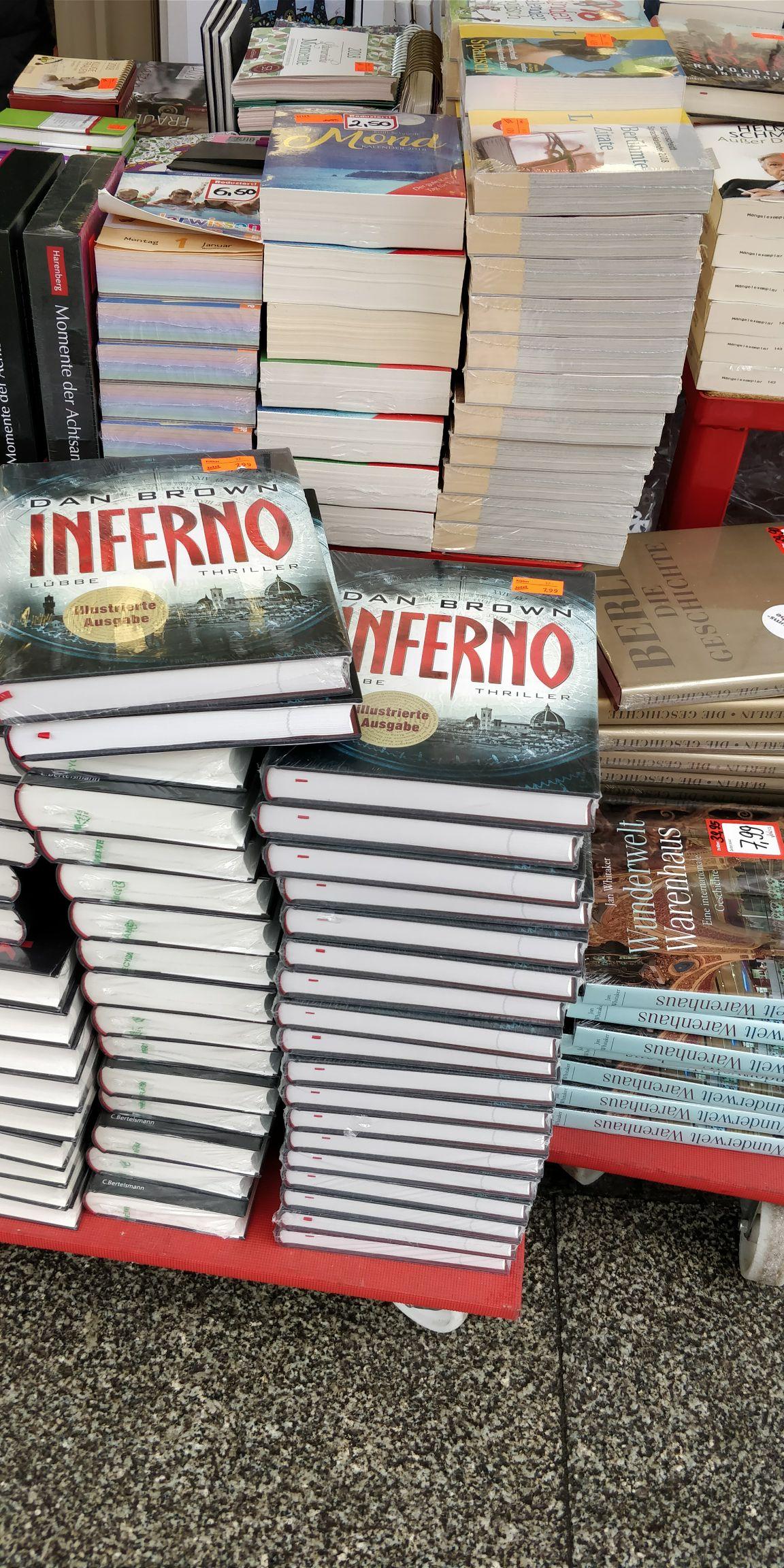"""[Altstadt Potsdam] Jokers: Illustrierte Edition """"Inferno"""" Dan Brown"""