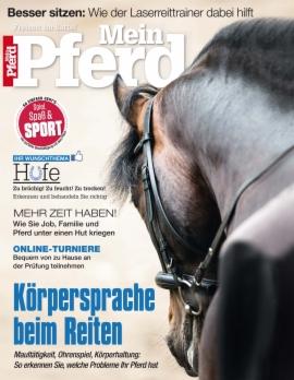 Mein Pferd 3 Monate für 8,90€ Lesen und einen 15€ Loesdau Gutschein erhalten