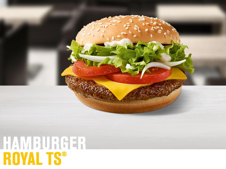 Ab 01.02. McDonald´s Hamburger Royal TS 1,99€ !