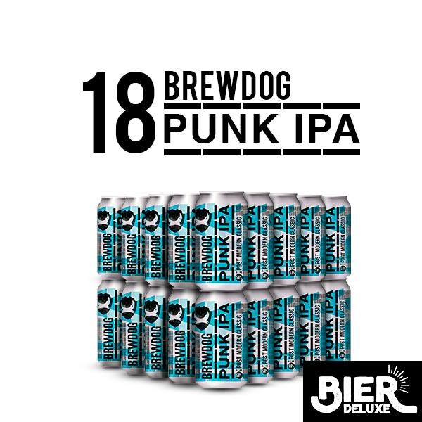Brewdog Punk IPA im Angebot, im 18er oder 36er Paket