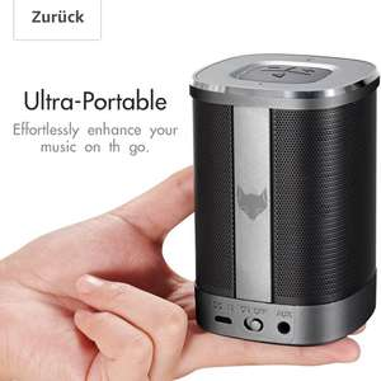 Kleiner Bluetooth Lautsprecher von IceFox -Amazon-