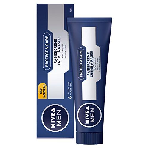 Amazon Plus: NIVEA Men, 4er Pack Rasiercreme für Männer, 4 x 100 ml Tube, Protect & Care