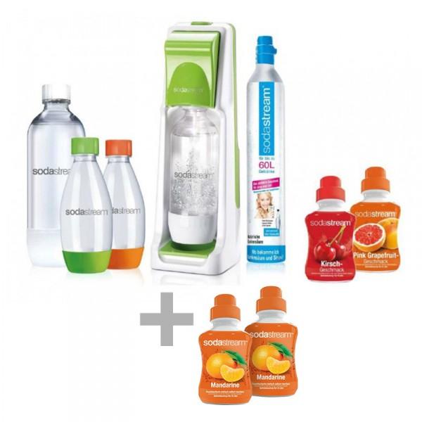 comtech: SodaStream Cool Super-Spar-Pack Grün + extra Mandarine Sirup + ggf. shoop 1,5%