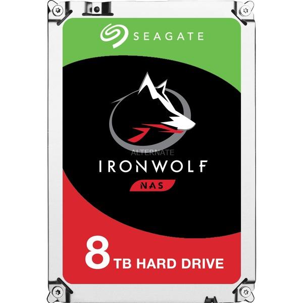 8TB Seagate Ironwolf 199,90€ zzgl. Versand
