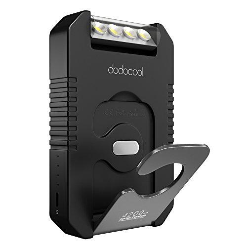 [Amazon Prime] Solar Ladegerät 4200mAh mit Taschenlampe und USB-Port