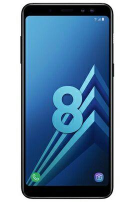 """Smartphone 5.6"""" Samsung Galaxy A8 (2018) - Super-AMOLED FHD+, Exynos 7885, RAM 4 GB, ROM 32 GB, Schwarz"""