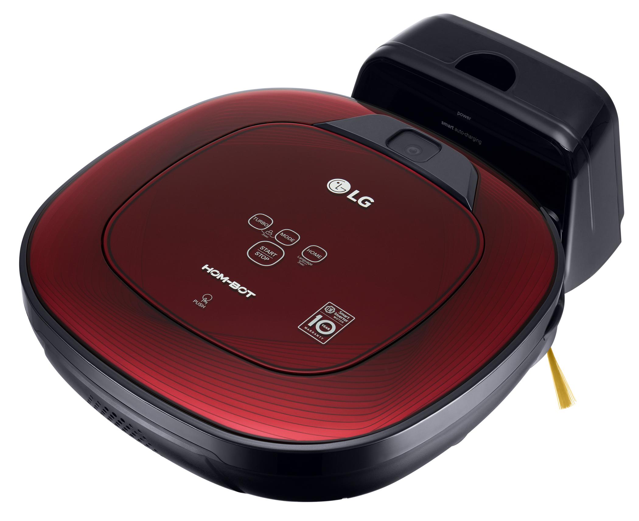 LG Staubsaugerroboter HomBot VRD 710 RRC