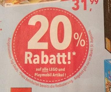 Lokal: Toys'r'us in Sankt Augustin - 20% auf Lego