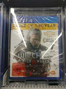 [Lokal/ Saturn Friedberg] The Witcher 3: Wild Hunt Game of the Year Edition (PS4)
