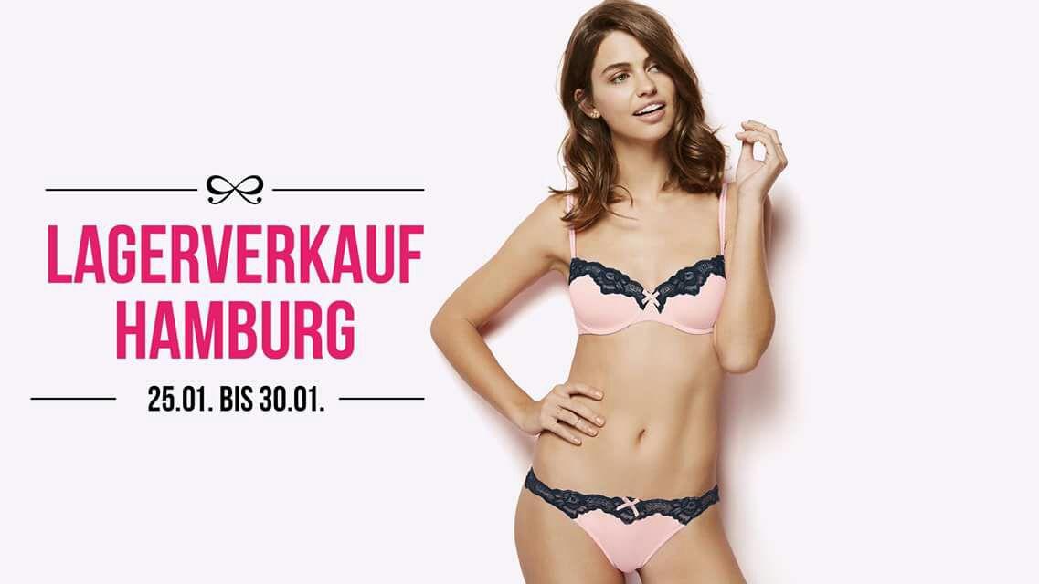 (Lokal: Hamburg) Lagerverkauf Hunkemöller - jedes Teil 2,50, Bademode 2€(+4€ Eintritt)