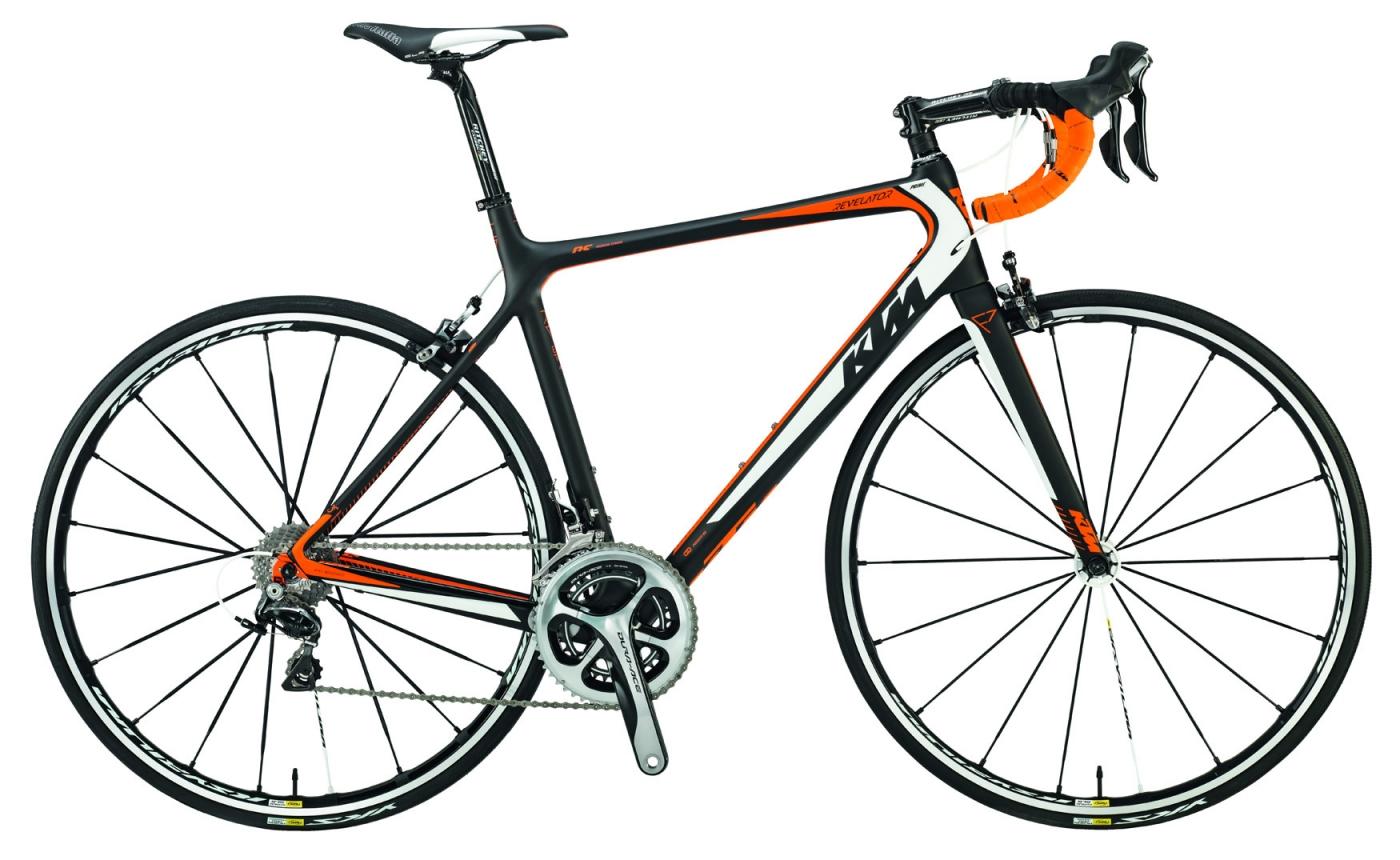 Rennrad KTM Revelator Night Prime Carbon 2015 für 2222€ statt 5499€, Revelator Prestige für 3499€