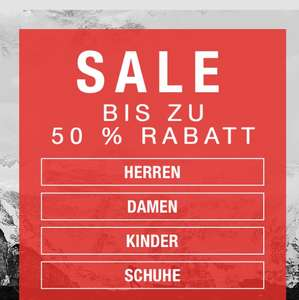 The North Face -Sale bis zu 50% Rabatt