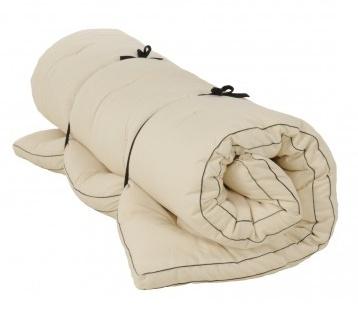 Futon Rollfuton 8cm dick, 80x200cm ab 66€, 90x200cm ab 69€ inkl. Versand, 20 verschiedene Farben