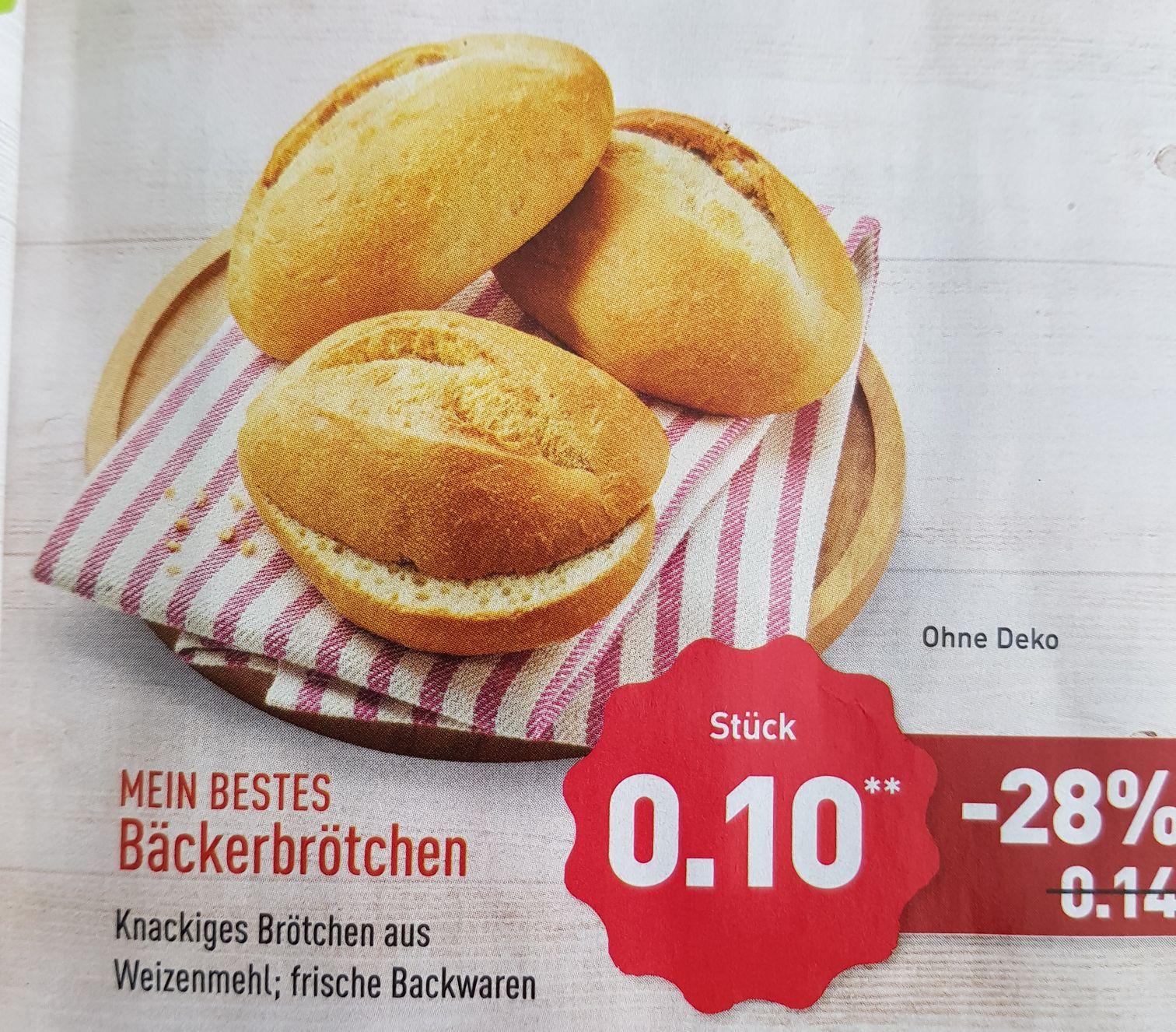 [Aldi-Nord] Knackige Bäckerbrötchen