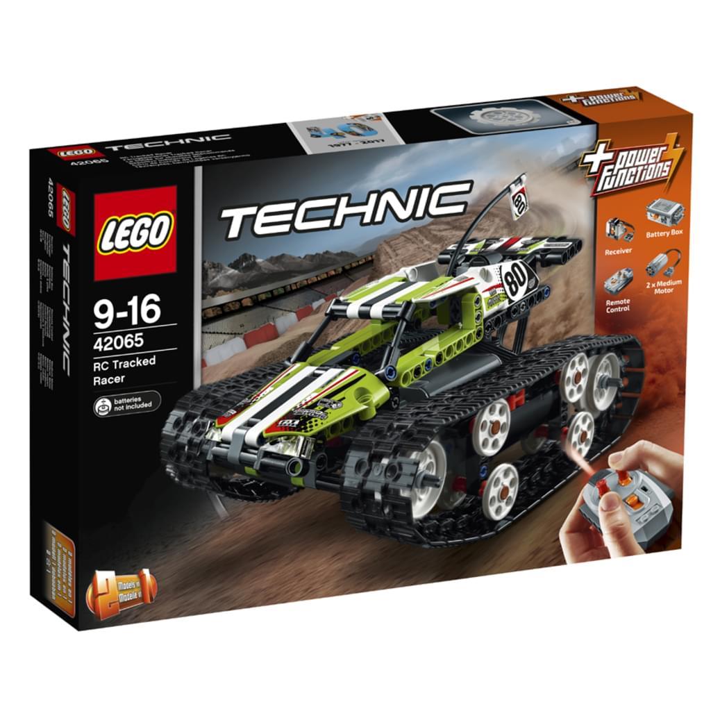 (real) LEGO® - Technic, Ferngesteuerter Tracked Racer; 42065 ___ 59 €