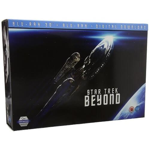[zavvi] Star Trek Beyond - Limited Edition Gift Set (3D-Bluray + Bluray + Raumschiffmodell)