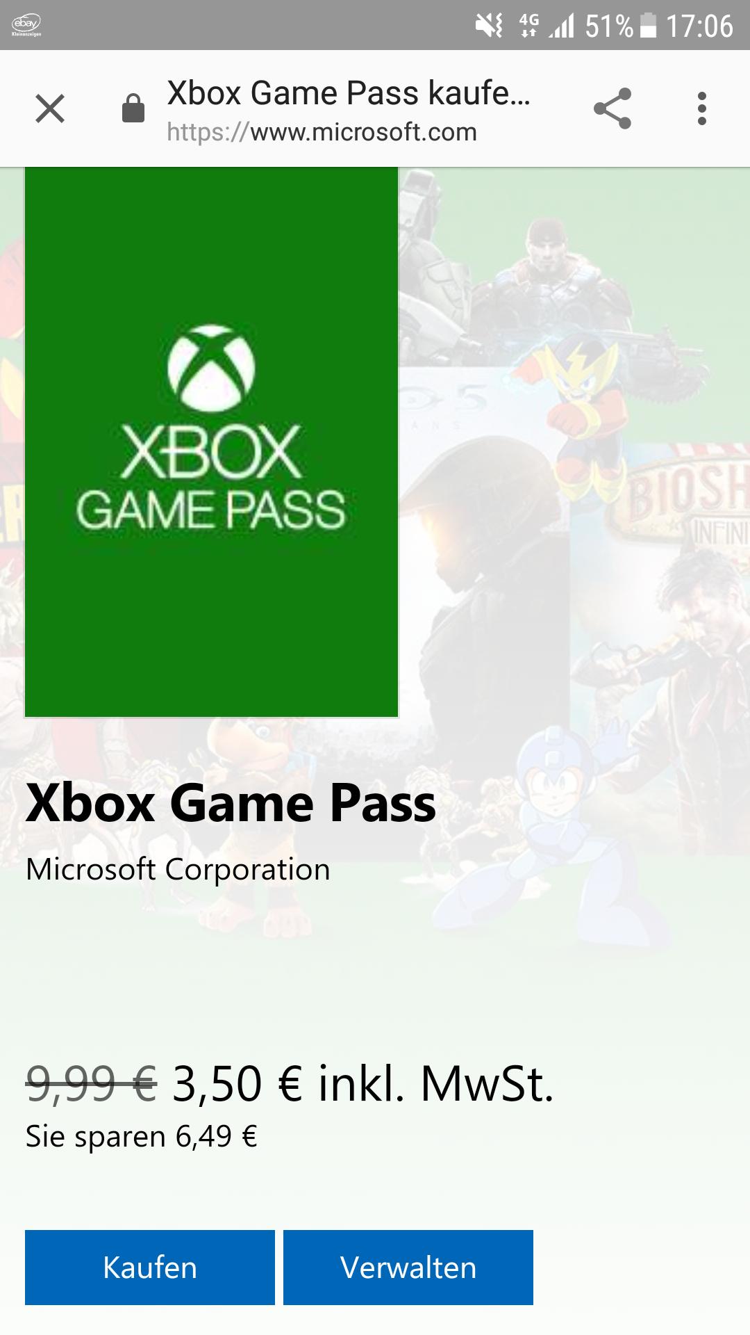 Xbox Game Pass im Microsoft Store. Nicht für Neukunden?!