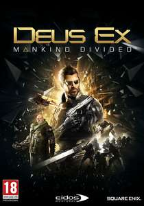 Deus Ex: Mankind Divided Day One Edition (Steam) für 5,41€ (CDKeys)