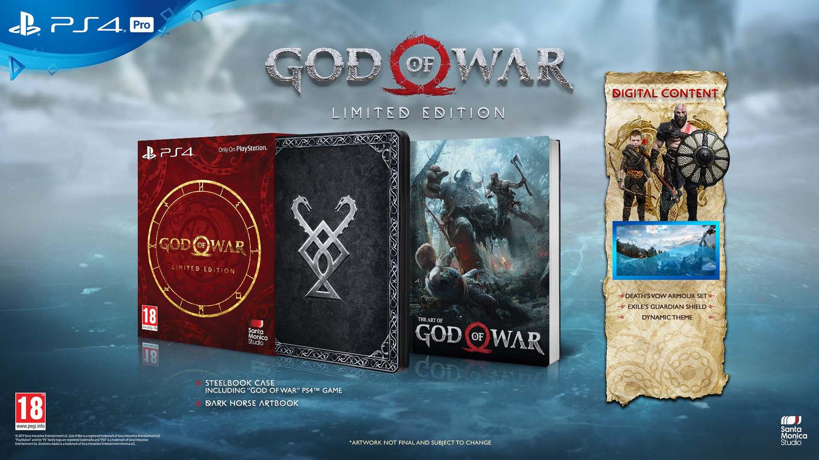 [Vorbestellung] God of War Limited Edition (Playstation 4 exclusive)