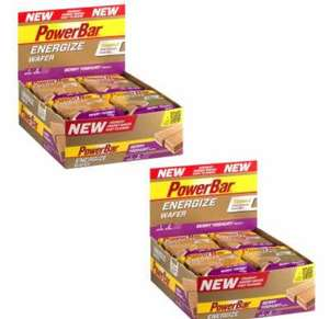 POWERBAR ENERGIZE WAFER RIEGEL 2 BOXEN (24 X 40 G)