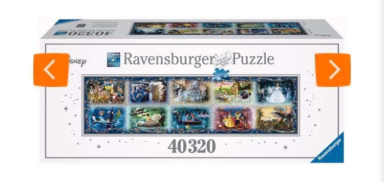 Toysrus: Ravensburger Puzzle: Unvergessliche Disney Momente - 40320 Teile