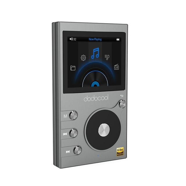 Dodocool DA-106 - HiFi Hires DAP (Digital Audio Player, Metallgehäuse) - 37.50 EUR !