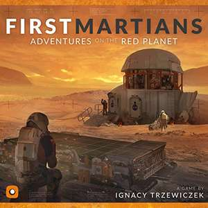 Brettspiel: First Martian: Adventures on the Red Planet (US Import)