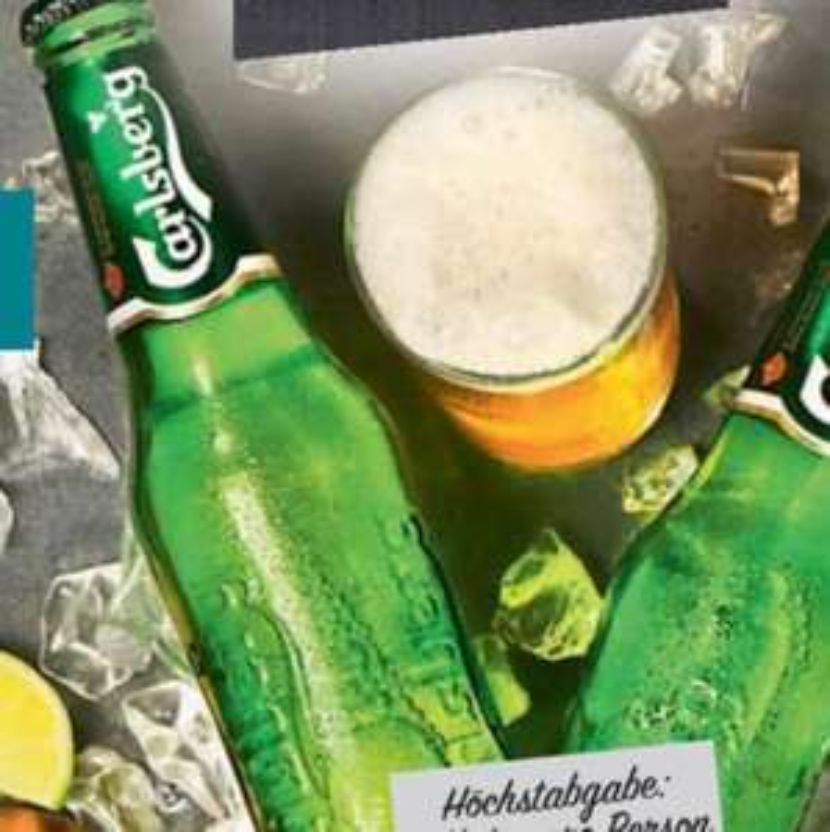 [lokal Citti] 24x0,33l Carlsberg für 10,00 (zzgl. Pfand). Oder Gin und Baileys