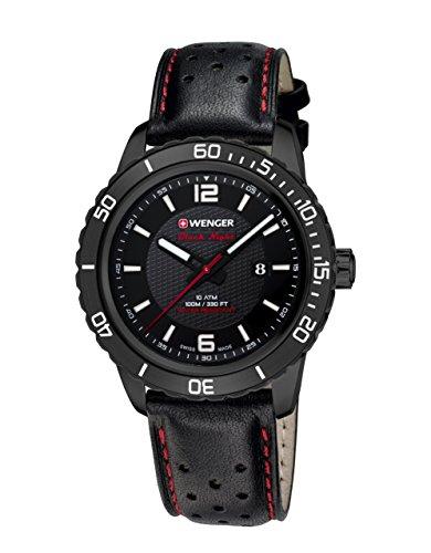 Wenger Unisex-Armbanduhr Roadster Black Night  01.0851.123