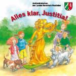 """(FREEBIE) Kostenloses Kinderbuch """"Alles klar, Justitia!"""" mit 4 Kurzgeschichten"""