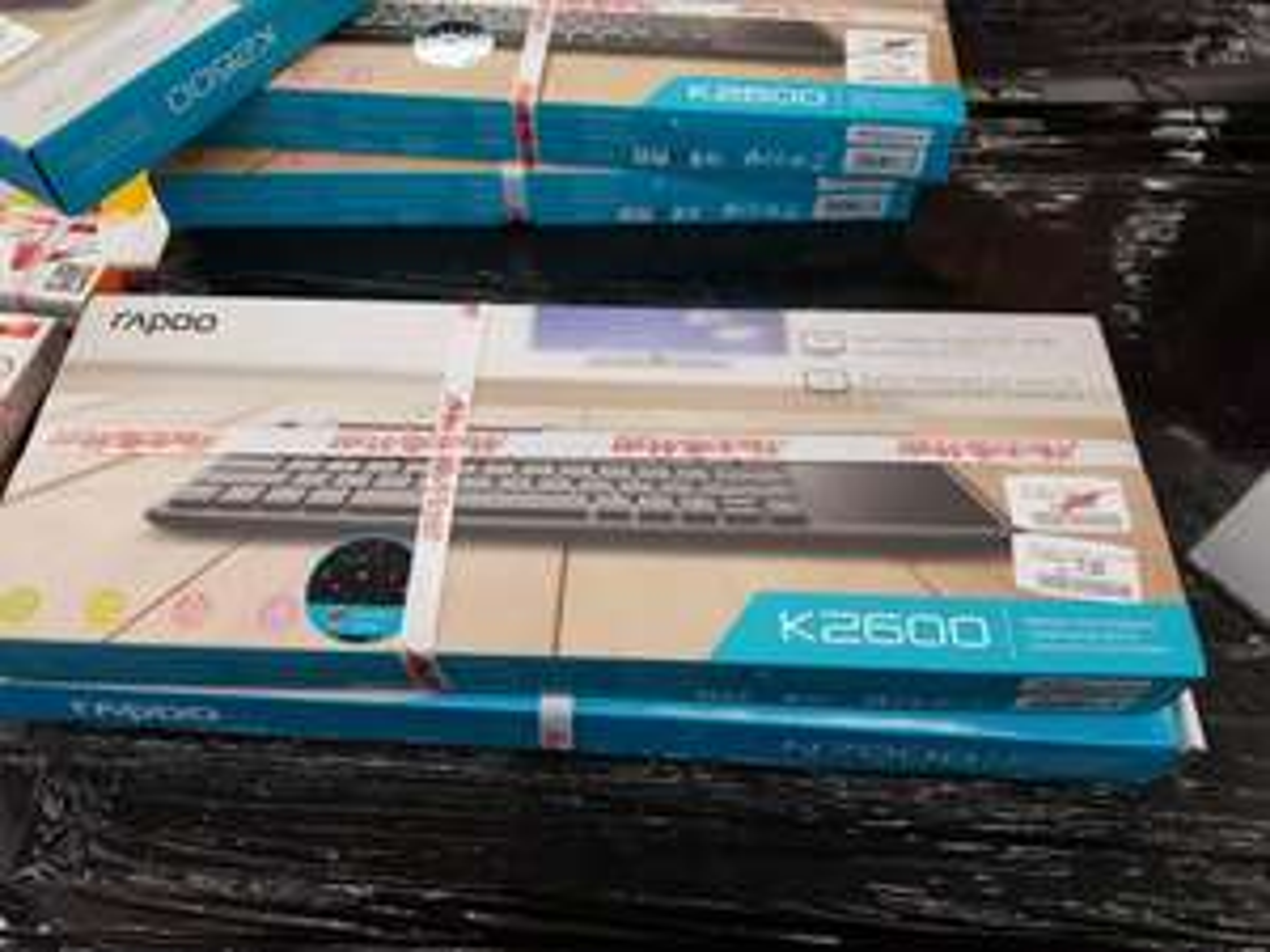 [Lokal MediaMarkt Düsseldorf] rapoo K2600 Funk Tastatur mit Touchpad für nur 17€