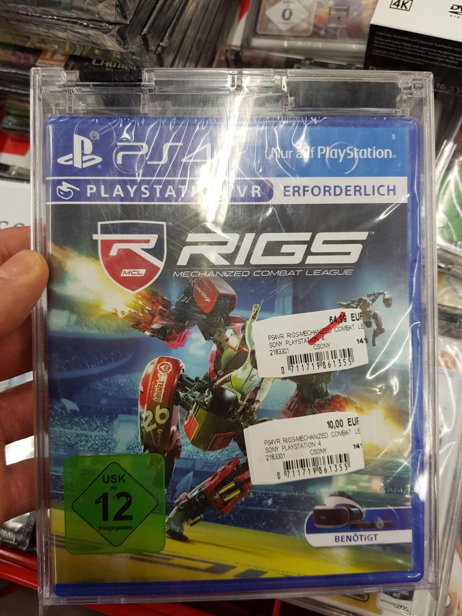 [Lokal MediaMarkt Düsseldorf] Rigs PS4 PSVR Playstation 4 für nur 10€