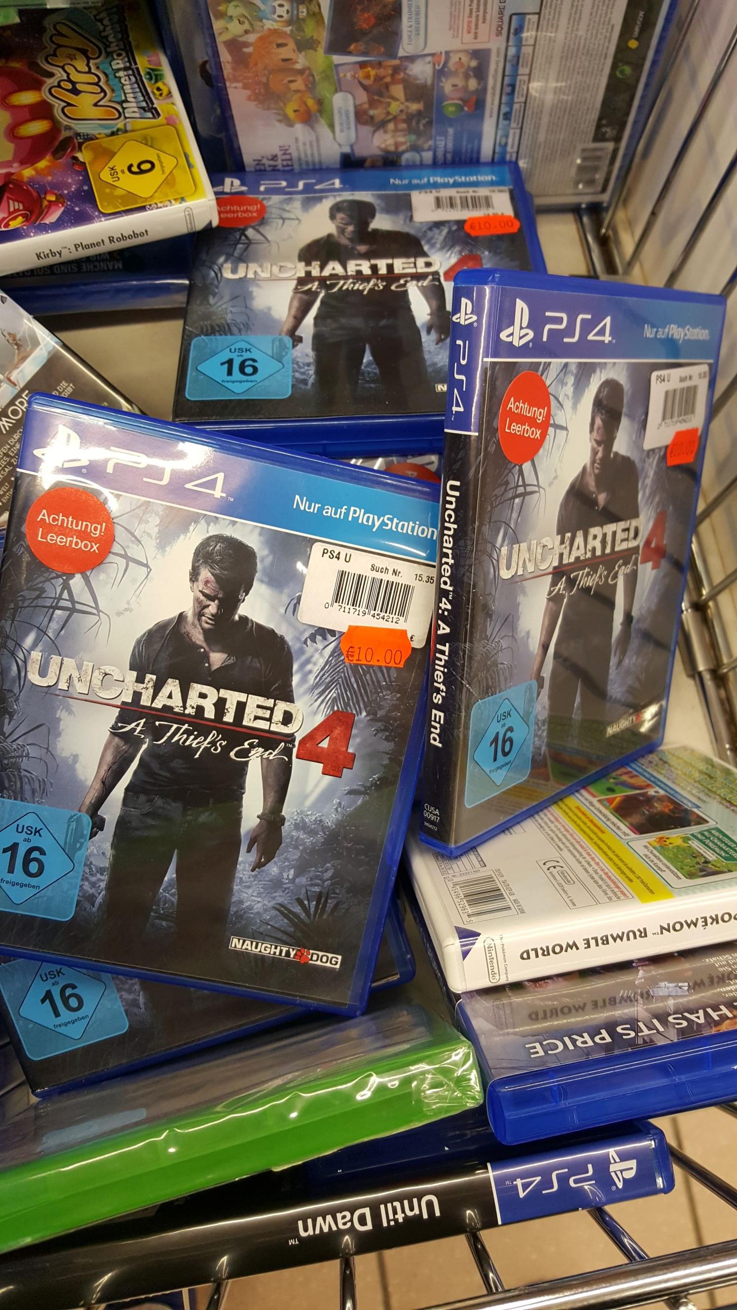 Lokal Real Ettlingen: Uncharted 4 PS4, No Man's Sky PS4