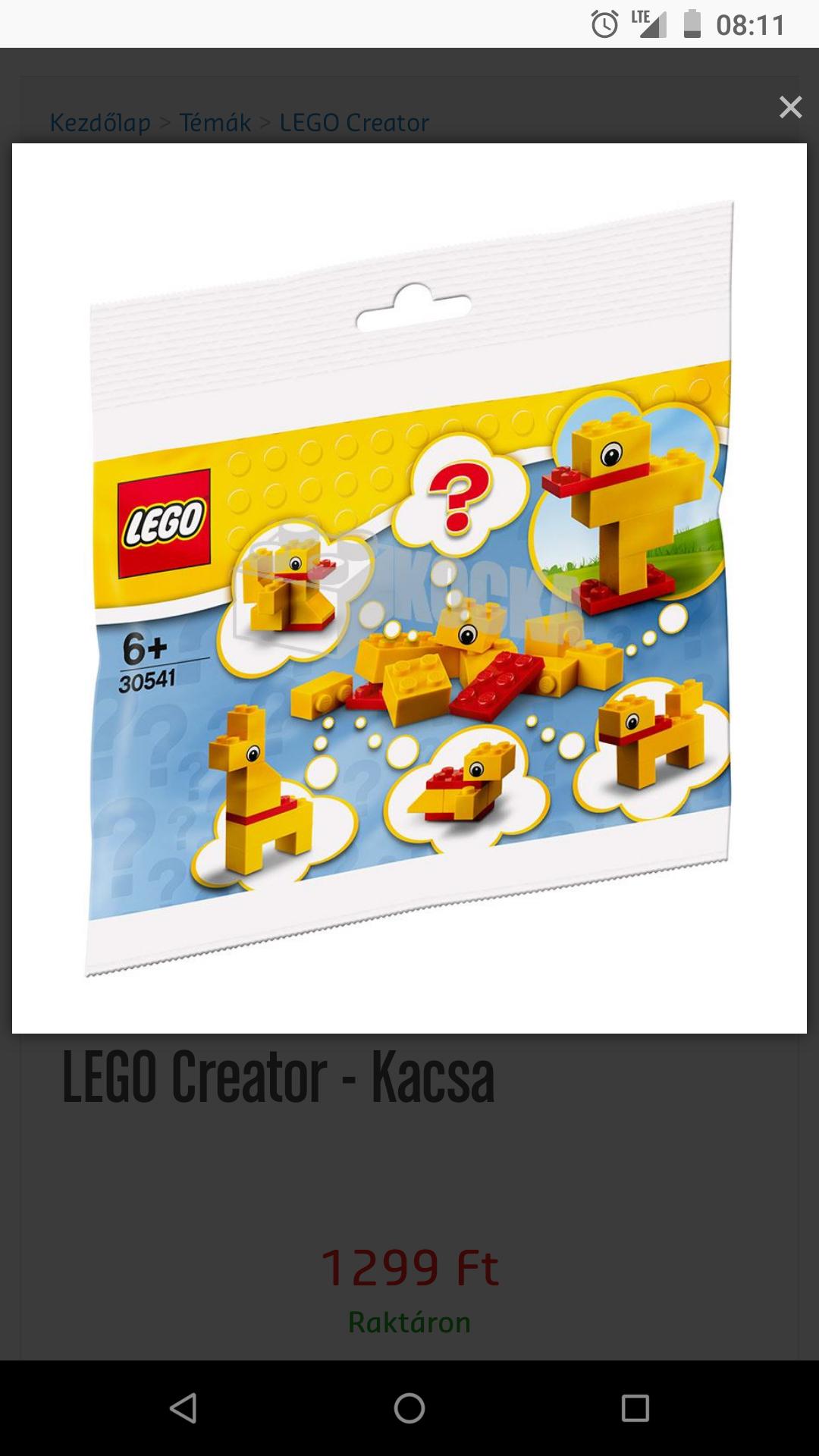 "Kostenloses Lego Polybag 30541 ""Duck"""
