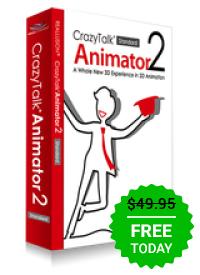 [Windows] CrazyTalk Animator Standard 2.14 kostenlos