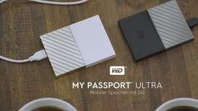 [Poppstar@Rakuten] Western Digital WD My Passport Ultra 2017 schwarz 2TB, USB 3.0 Micro-B (WDBFKT0020BGY