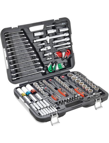 Connex Premium-Werkzeugkoffer/Steckschlüsselsortiment KFZ, 160-teilig, COXBOH600160 für 125,99 Euro