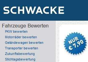 Schwacke - Gebrauchtwagenbewertung kostenlos (F.A.S. Aktion)