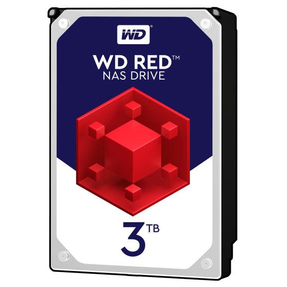 [NBB] Western Digital WD RED 3TB NAS Festplatte: VSK-frei + WDRED10 Gutschein
