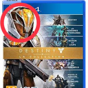 PlayStation 4 Destiny The Collection Amazon 14,70€