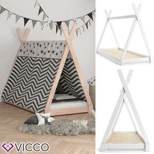 preisfehler tipi bett 90 x 200 kinderbett zelt indianer massivholz hausbett. Black Bedroom Furniture Sets. Home Design Ideas