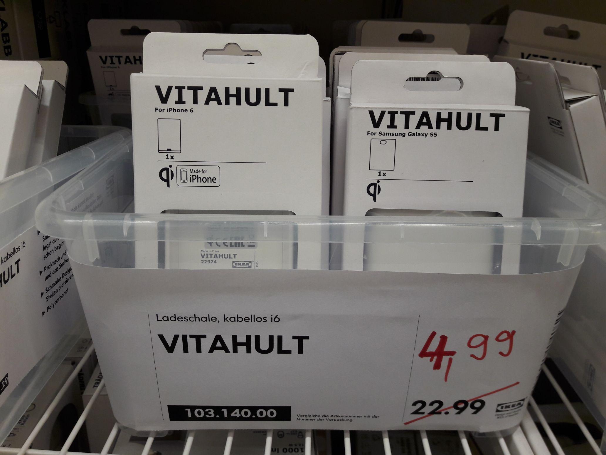[Lokal] [Ikea Sindelfingen] Vitahult Ladeschale wireless