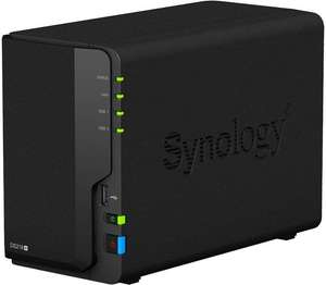 Synology DS218+ 2-Bay NAS 6TB Bundle mit 2x 3TB Seagate Ironwolf HDs
