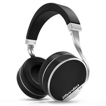 Banggood Bluetooth Kopfhörer Bluedio Vinyl Plus 70mm Treiber schwarz, oder weiß (Shoop - 4 %)