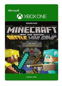 Minecraft: Xbox One Edition Battle-Kartenpaket Season Pass für 2,12€ (ShopTo)